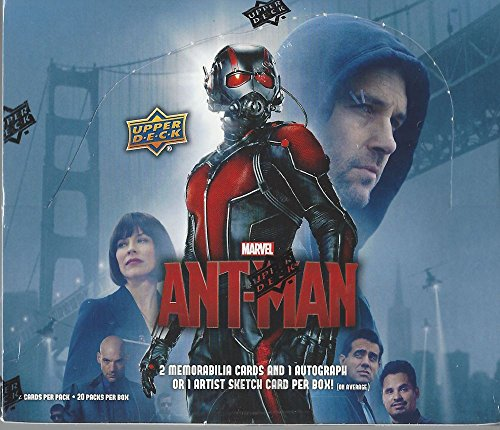 2015 Upper Deck Marvel 'Ant-Man' Trading Card box (2015 Marvel Cards compare prices)