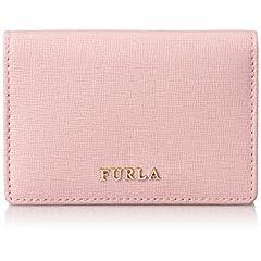 [フルラ] Furla バビロンビジネスカードケース PN74 WIN00771975 (ウィンターローズ(ピンク))
