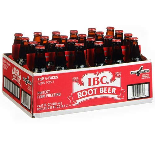 IBC Root Beer - 24/12 oz. bottles (072796202760)
