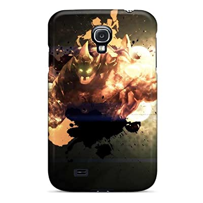 Defender Case With Nice Appearance (league Of Legends Malphite) For Galaxy S4