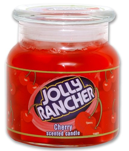 Jolly Rancher by Hanna's Candle 16.75-Ounce Jolly Rancher Cherry Jar Candle