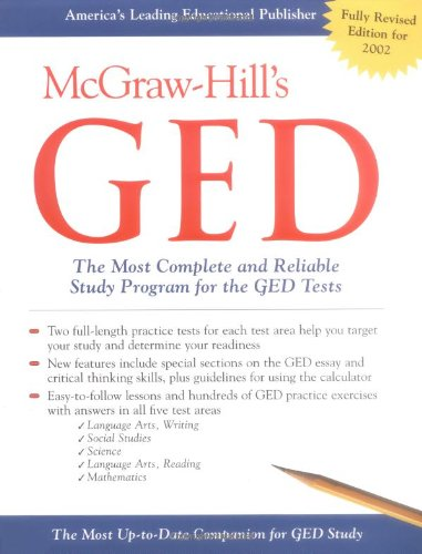 McGraw-HIll's GED : The Most Complete and Reliable Study Program for the GED Tests (Ca Ged compare prices)