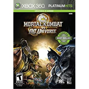 Pre-order Mortal Kombat vs. DC Universe for Xbox 360