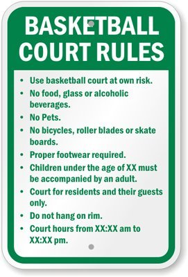 Safety Rules In Playground