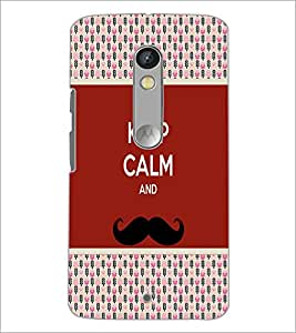 PrintDhaba Quote D-6053 Back Case Cover for MOTOROLA MOTO X PLAY (Multi-Coloured)
