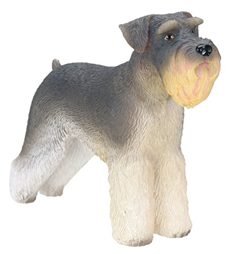 Schnauzer Dog - Collectible Statue Figurine Figure Sculpture Puppy