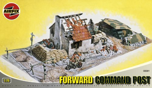 Buy Low Price Hornby Airfix A03381 1:76 Scale Forward Command Post Dioramas Classic Kit Figure (B0002HZWCW)