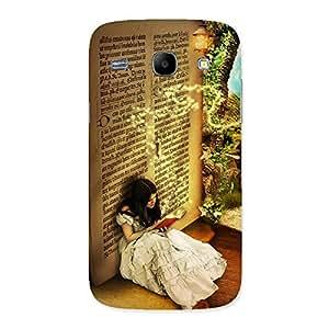Premium Secrate Book Multicolor Back Case Cover for Galaxy Core