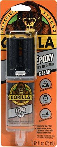 Gorilla Epoxy, .85 oz., Clear