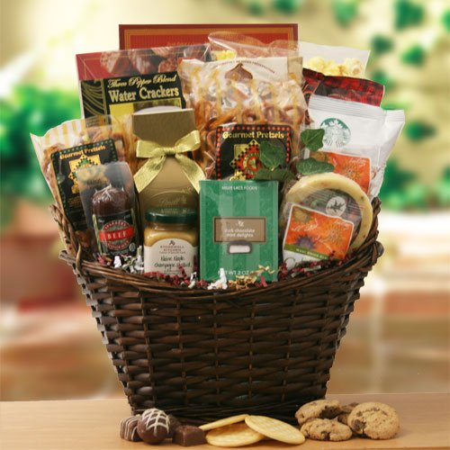 With Sympathy Sympathy Gift Basket