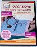 Create and Craft Occasions card making tachniques DVD