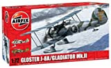 Airfix 1:72 Gloster Gladiator MkIII J8A Aircraft Model Kit by Airfix