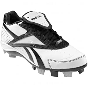 Reebok Womens Vintage Iv Low Msl Molded Cleats 6 Us White|Black 6 US