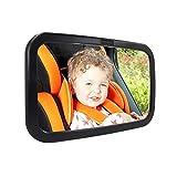 Vista posterior del beb� Espejo, Dland Perfect Pivot para Perfect Vista del beb� en el coche ajustable Espejo Asiento de atr�s con inastillables Super
