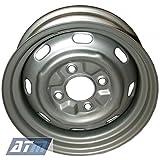 Stahlfelge Grundiert 5,5x15 4 L�cher VW K�fer 1200 1300 1500 1600 Bj.67->85