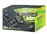 Volant Farming Simulator + pédalier + panneau de commandes + Farming Simulator 15 - édition gold pour PC...