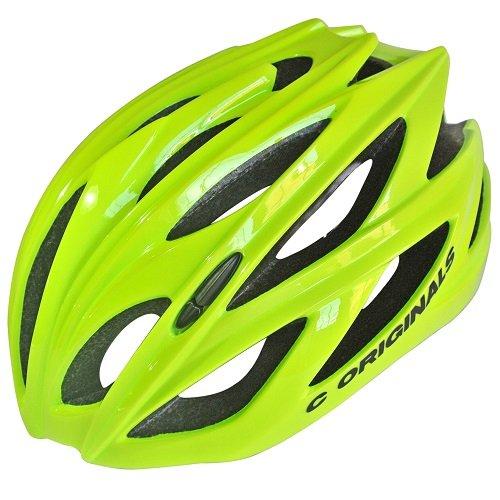 210-Gramos-Ultra-Ligero-C-ORIGINALS-C380-Casco-Bicicleta-Amarillo-de-Alta-Visibilidad