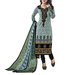 Foram Fashion Women's Cotton Unstitched Dress Material (FF10_Multi-Coloured_Freesize)