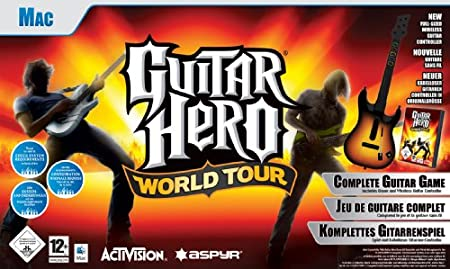 Guitar Hero: World Tour - Guitar Bundle (Mac DVD)