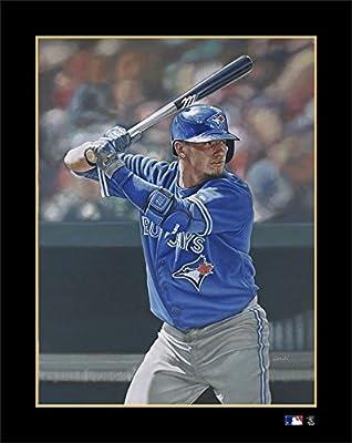 "MLB Toronto Blue Jays Josh Donaldson Victory Fine Art Print on Paper, 19"" x 24"""