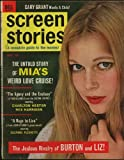 Screen Stories Magazine; November 1965 Mia Farrow cover (Vol. 64, No. 11)