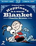 Happiness is a warm Blanket Charlie Brown (Bluray + DVD + Digital Copy)