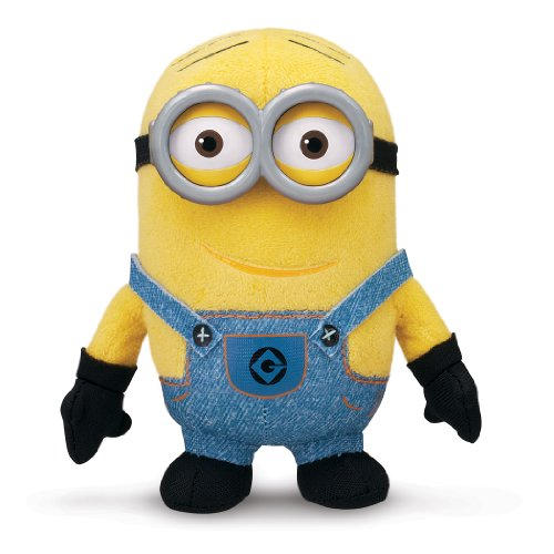 Despicable Me Buddies-Soft Huggable Friends-Minion Dave Plush - 1