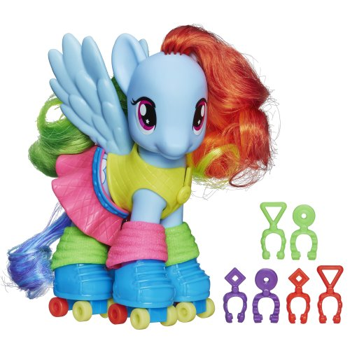My Little Pony Fashion Style Rainbow Dash Figure (Cutie Pie Dolls compare prices)
