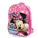 Disney Minnie Mouse Cutie Pie 11 Mini Toddler Backpack Bag