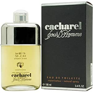 cacharel pour homme by cacharel 100ml edt spray. Black Bedroom Furniture Sets. Home Design Ideas