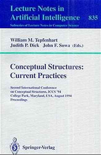 Conceptual Structures: Current Practices: Second International Conference on Conceptual Structures, ICCS '94, College Pa