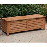 Home Styles 5661-25 Montego Bay Deck Box, Eucalyptus Finish