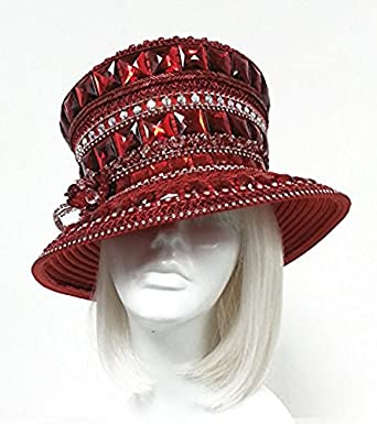 The red hat society by luke song cyrstal rhinestone for Red hat bling jewelry