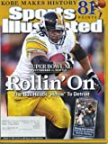 Sports Illustrated January 30, 2006 Jerome Bettis/Pittsbugh Steelers Cover, Super Bowl XL, Lofa Tatupu/Seattle Seahawks, Kobe Bryant Scores 81/LA Lakers, Kevin Pittsnogle/West Virginia at Amazon.com