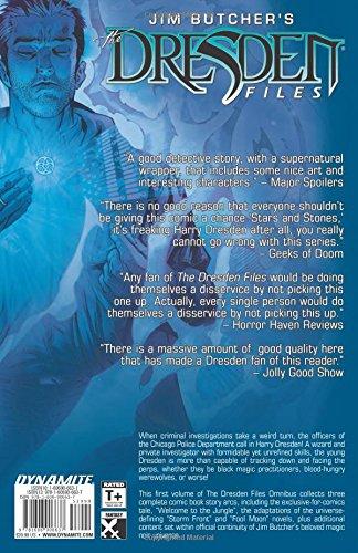 Jim Butcher's The Dresden Files Omnibus Volume 1