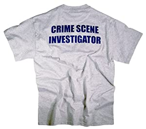 CSI Shirt T-Shirt NYPD Authentic Clothing Apparel Officially Licensed Merchandise by The New York City Police Department