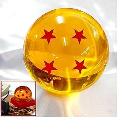 Acrylic Dragonball Replica Ball (Large/4 Stars)
