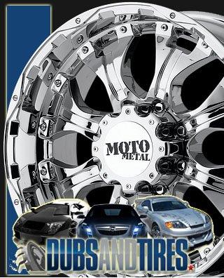 Moto Metal Series MO959 Chrome - 20 X 9 Inch Wheel