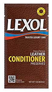 Lexol 1016 Leather Conditioner Quick Wipe Towelette, 100-Count