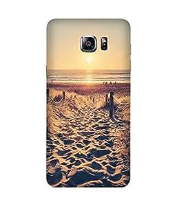 Beach Love Samsung Galaxy Note 5 Edge Case