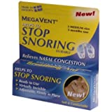 Megavent Stop Snoring (Medium Size) - 3 sets