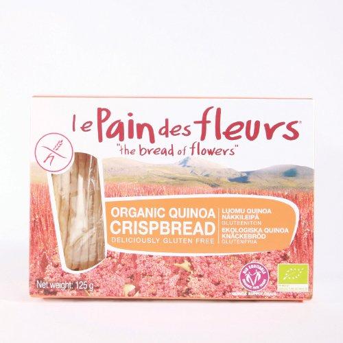 Le Pain Des Fleurs Organic Quinoa Crispbread (6X125G)