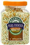Riceselect Tri-Color Pearl Couscous, 11.53-Ounce Jars (Pack of 6)