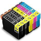 IC4CL69 【 4色セット +黒2個 】 EPSON エプソン 互換インク   PX-045A , PX-046A , PX-047A , PX-105 , PX-405A , PX-435A , PX-436A , PX-437A , PX-505F , PX-535F ( ICBK69L 黒 ブラック / ICC69 シアン / ICM69 マゼンタ / ICY69 イエロー + ブラック2個)