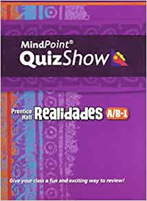 Realidades 3 mindpoint quizshow prentice hall cd rom texas edition