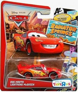Disney Pixar Cars Bug Mouth Lightning McQueen Scale Model Vehicle