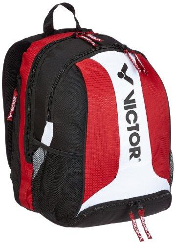 VICTOR Sporttasche Rucksack 9103, rot/weiß/schwarz, 55 x 35 x 21 cm, 910/5/3