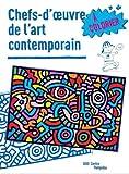 Chefs-d'oeuvre de l'art contemporain à colorier...