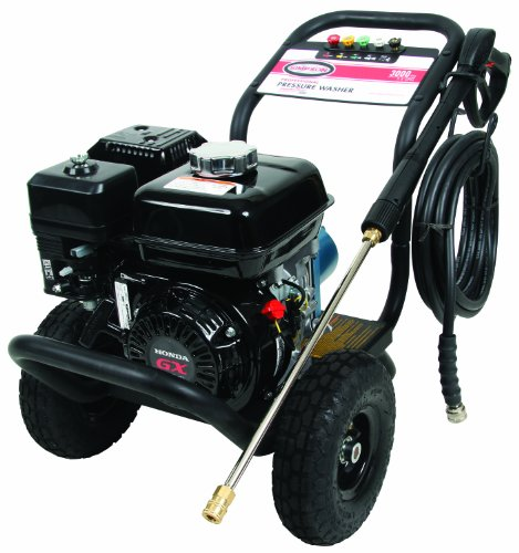 PSI Honda GX200 Commercial Gas Powered Heavy Duty Pressure Washer