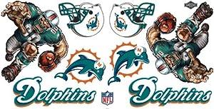 Buy NFL Miami Dolphins Skinit Liquid Blue Car Decals (Medium, 49- x 25-Inch) by Skinit